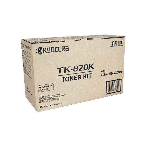 Заправка картриджа Kyocera TK-820K (1T02HP0EU0) в Москве