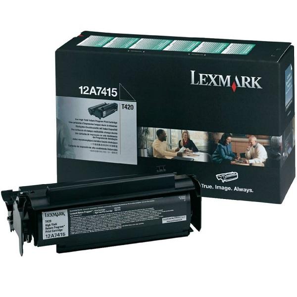 Заправка картриджа Lexmark 12A7415 в Москве