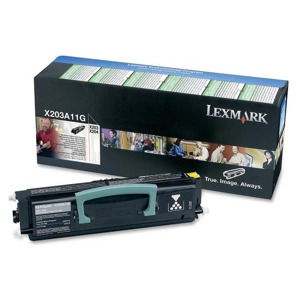 Заправка картриджа Lexmark X203A11G в Москве