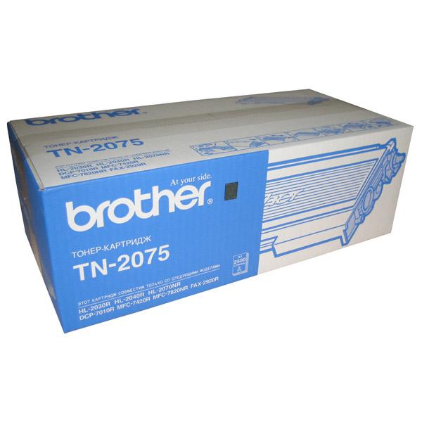 Заправка картриджа Brother TN-2075 в Москве