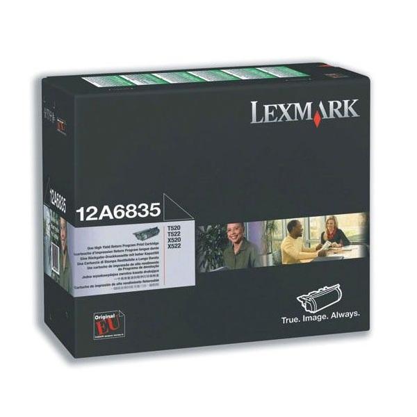 Заправка картриджа Lexmark 12A6835 в Москве