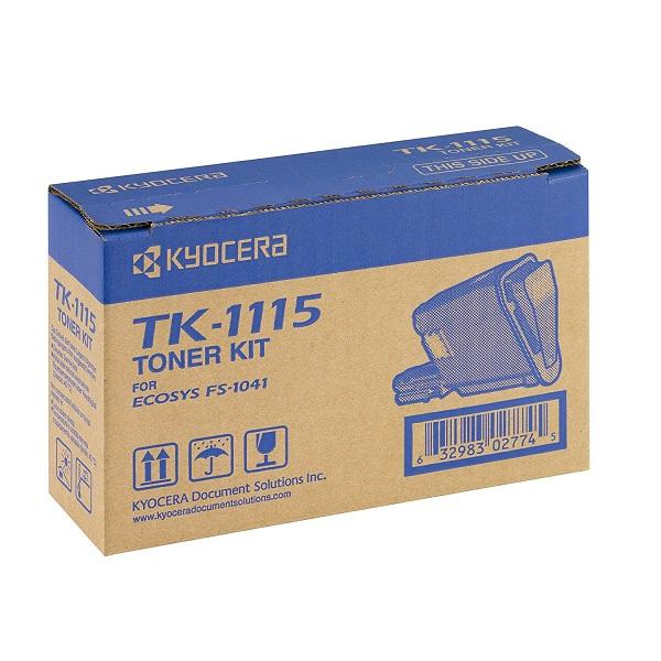 Заправка картриджа Kyocera TK-1115 (1T02M50NLV) в Москве