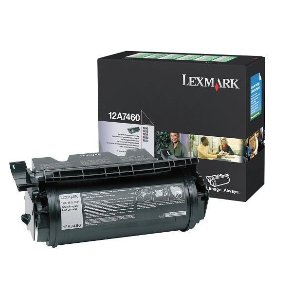 Заправка картриджа Lexmark 12A7460 в Москве