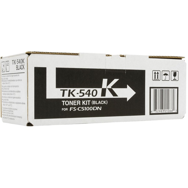 Заправка картриджа Kyocera TK-540K (1T02HL0EU0) в Москве