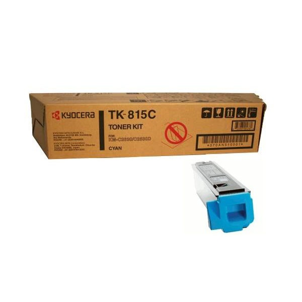 Заправка картриджа Kyocera TK-815C (370AN510) в Москве