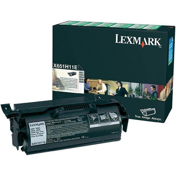 Заправка картриджа Lexmark X651H11E в Москве