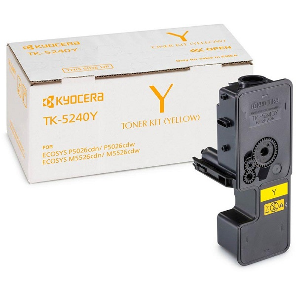 Заправка картриджа Kyocera TK-5240Y (1T02R7ANL0) в Москве