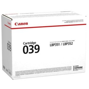Заправка картриджа Canon 039 (0287C001) в Москве