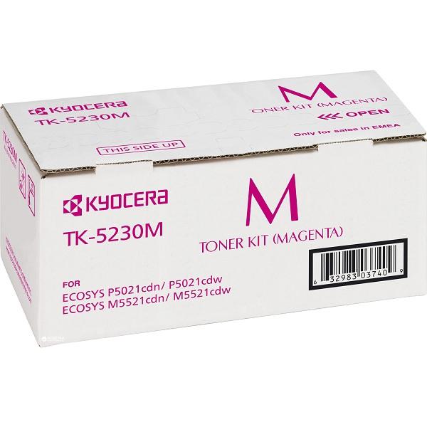 Заправка картриджа Kyocera TK-5230M (1T02R9BNL0) в Москве