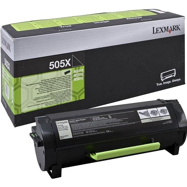 Заправка картриджа Lexmark 505X (50F5X00) в Москве