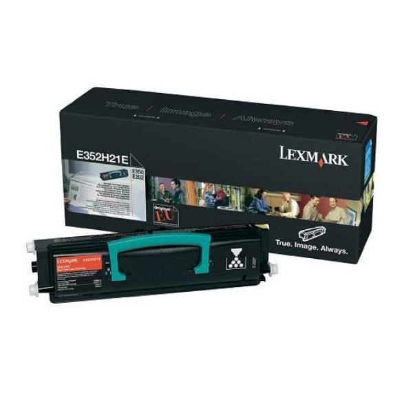 Заправка картриджа Lexmark E352H21E в Москве