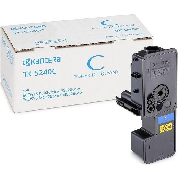 Заправка картриджа Kyocera TK-5240C (1T02R7CNL0) в Москве