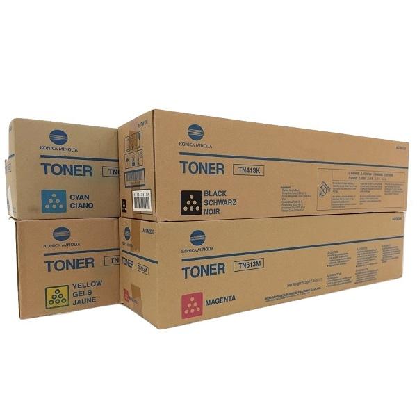 Заправка картриджа Konica Minolta TN413K (A0TM151)