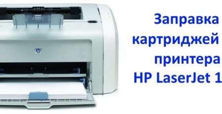 HP 1020 заправка