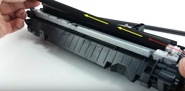 инструкция по заправке HP 85A (CE285A) 12