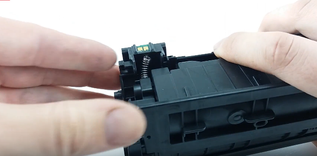 инструкция по заправке HP 85A (CE285A) 18