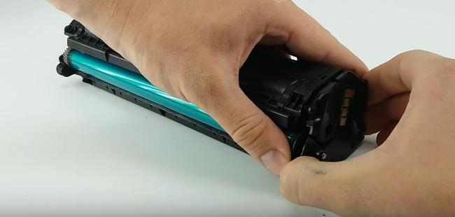 Инструкция по заправке Samsung MLT—D111S 2