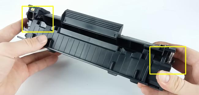 инструкция по заправке Canon 725 23