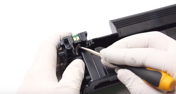 Инструкция по заправке картриджа HP 83A (CE283A) 23