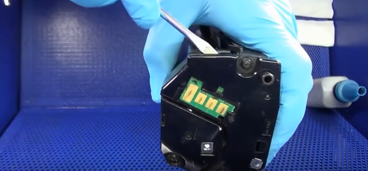 Инструкция по заправке Samsung MLT-D101S 1