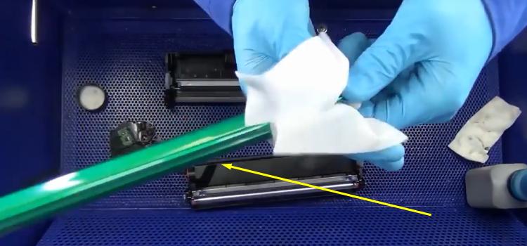 Инструкция по заправке Samsung MLT-D101S 10