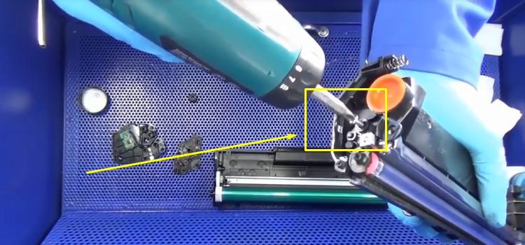 Инструкция по заправке Samsung MLT-D101S 13