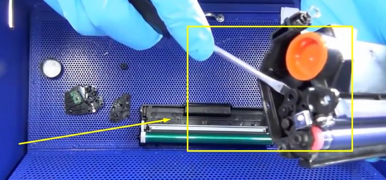 Инструкция по заправке Samsung MLT-D101S 14