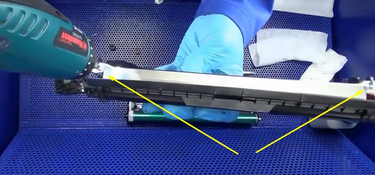 Инструкция по заправке Samsung MLT-D101S 16