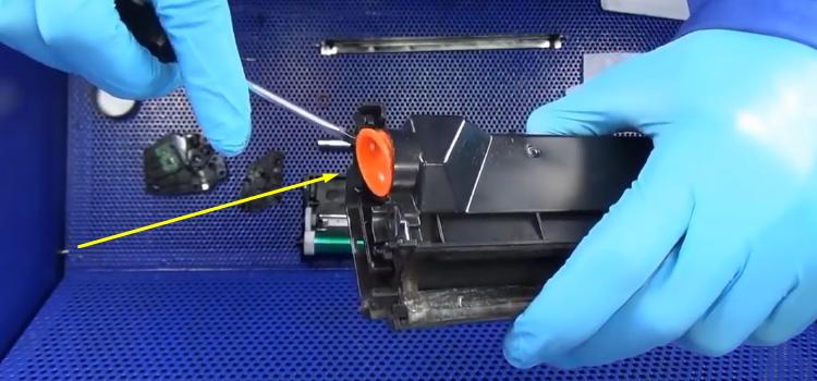 Инструкция по заправке Samsung MLT-D101S 18