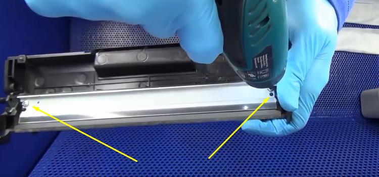 Инструкция по заправке Samsung MLT-D101S 6