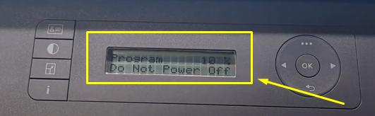 прошивка hp 135a прогресс