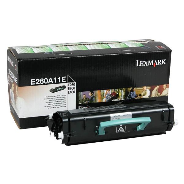 Заправка картриджа Lexmark E260A11E в Москве